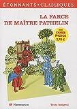 echange, troc Anonyme - La Farce de Maître Pathelin