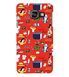 Modern Life Style Animation 3D Hard Polycarbonate Designer Back Case Cover for Samsung Galaxy A3 :: Samsung Galaxy A3 Duos :: Samsung Galaxy A3 A300F A300FU A300F/DS A300G/DS A300H/DS A300M/DS
