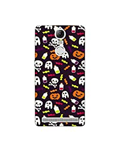 Lenovo K5 Note Colorful-halloween-pattern-01 Mobile Case by Mott2 (Limited Time Offers,Please Check the Details Below)
