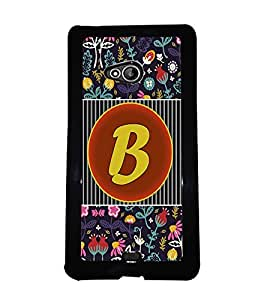 PrintVisa Metal Printed Alphabet Designer Back Case Cover for Microsoft Lumia 540 Dual Sim-D4783