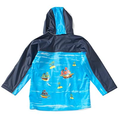 PLAY SHOES trendy rain jacket, rain coat pirate
