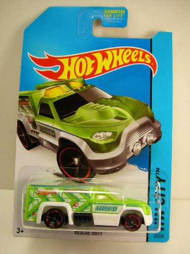 2014 Hot Wheels Hw City - Rescue Duty - Treasure Hunt - 1