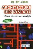 echange, troc Bertrand Petit - Architecture des réseaux : Cours et exercices corrigés