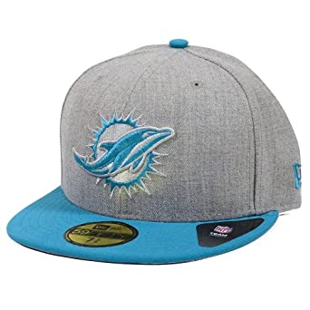 Miami Dolphins New Era Neutral Basic and Team Color Fitted Hat by New Era