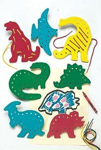 Lacing & Tracing Dinosaurs
