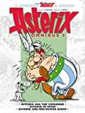 Rene Goscinny Asterix Omnibus 5: Asterix and the Cauldron, Asterix in Spain, Asterix and the Roman Agent