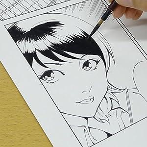 呉竹 漫画ブラック 60ml