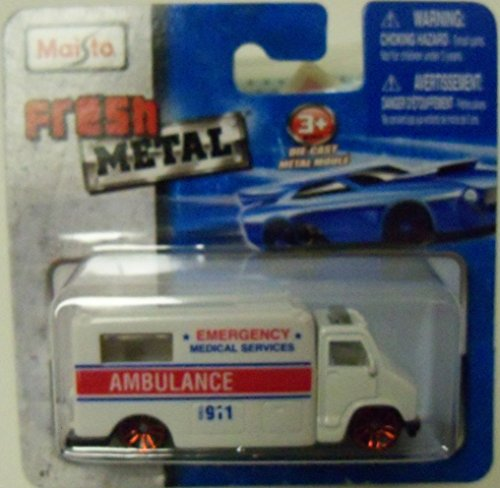 Maisto Fresh Metal Die-Cast Vehicles ~ Ambulance (Emergency Medical Services)