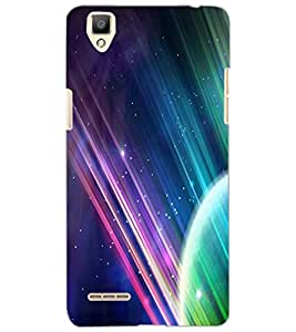 OPPO F1 GALAXY Back Cover by PRINTSWAG