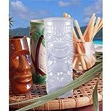 Clear Plastic Tiki Glass - 24oz