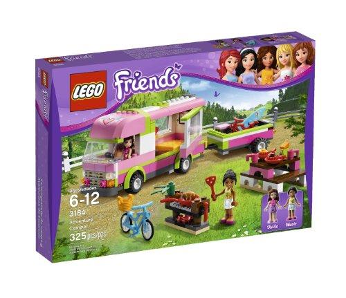 Friends LEGO 325 PCS Adventure Camper Brick Box Building Toys (Lego Friends Adventure Camper compare prices)