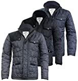 Jack & Jones Max Mens Designer Jacket in Phantom, Black OR Black/Navy