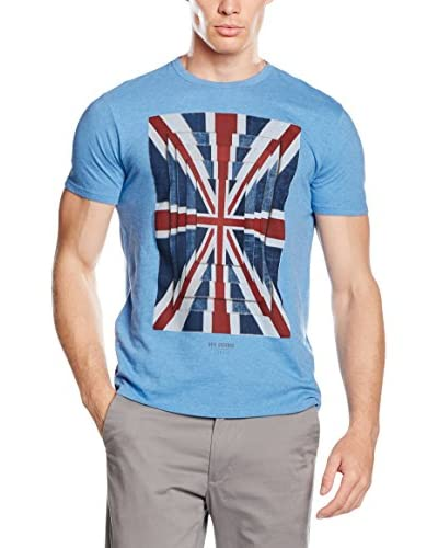Ben Sherman T-Shirt Manica Corta Union Optic Tee  [Blu]