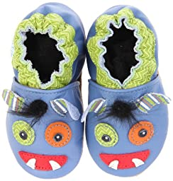 Robeez Soft Soles Mix & Match Monster Pre-Walker (Infant/Toddler),Blue,18-24 Months (6.5-8 M US Toddler)