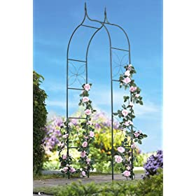 Metal Outdoor Garden Trellis by Collections Etc