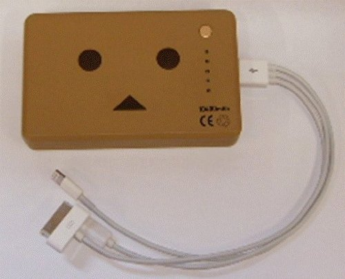cheero Power Plus 10400mAh DANBOARD Version + 4in1トライデントケーブル