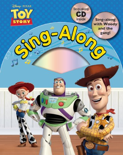 Disney Pixar Toy Story Sing Along with CD (Disney Singalong)