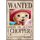 "ONE PIECE ""Wanted Chopper"" Poster  ワンピース「ウォンテッドチョッパー」ポスター"