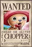 "ONE PIECE - Poster ""Wanted Chopper"" (98x68) roulé filmé"