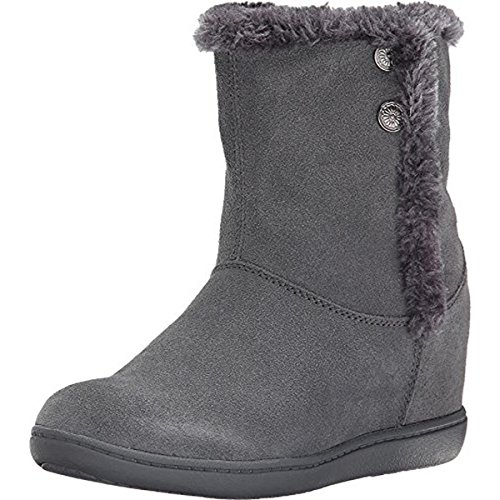 Skechers Women's Plus 3-Belay Winter Boot, Charcoal, 9 M US (Skechers 3 Plus compare prices)