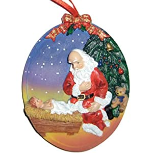 Santa's Christmas Prayer- Ornament