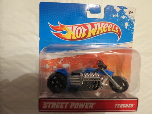 Hot Wheels Street Power Bikes - Ferenzo - Green & Black