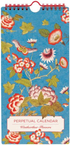 Winterthur Flowers Perpetual Calendar