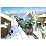 Pines Express at Blandford - Pack of 4 Christmas Cards of the same design