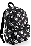 Damen Frauen Sommer Schul Rucksack weiß Blumen Bagbase Schule Uni Ranzen Tasche