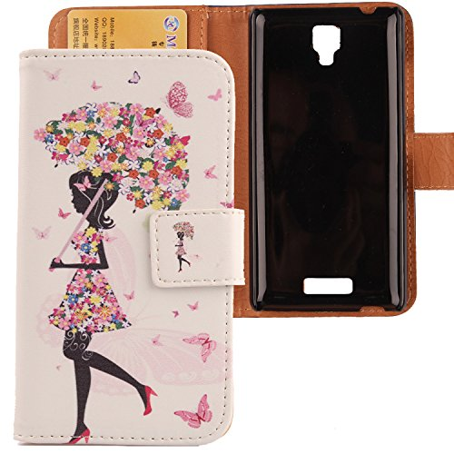 Lankashi Custodia Caso Guscio Protettiva Pelle Case Skin Cover Per NGM Forward ART Umbrella Girl Design