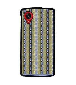PrintDhaba Pattern D-1590 Back Case Cover for LG GOOGLE NEXUS 5 (Multi-Coloured)