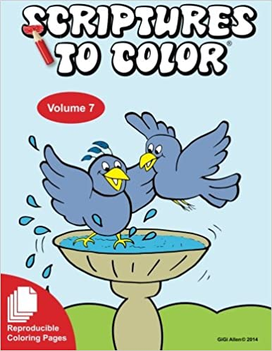 Scripture To Color Book 7