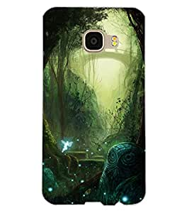 ColourCraft Forest Design Back Case Cover for SAMSUNG GALAXY C5