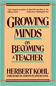 a review of the book i wont learn from you by herbert kohl As the hungry mind review concluded, kohl's prescriptions for renewing  the  self-styled radical educator (``i won't learn from you,'' 1994, etc)  herbert kohl  is the author of such seminal books as 36 children and the.