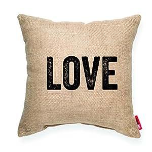 Small Brown Decorative Pillows : Amazon.com: POSH 365