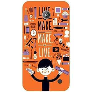 Nokia Lumia 630 Back Cover - Live Life Designer Cases