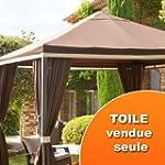 Toile de tonnelle Avignon - Chocolat