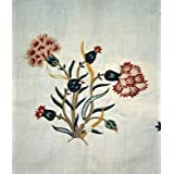 Embroidered flowers (Print On Demand)