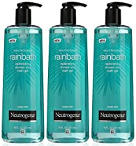Neutrogena Rainbath Replenishing Shower and Bath Gel, Ocean Mist, 16 Ounce (Pack of 3)