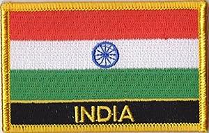 Parche Bordado Bandera India - 9 x 6 cm   más información y comentarios