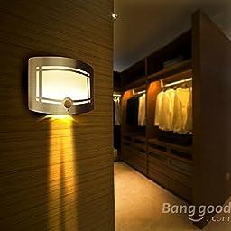 Saver Energy Saving Body Induction LED Night Light Aisle Yard Wall Lamps