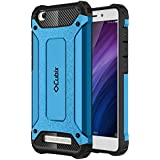 Cubix Impact Hybrid Armor Defender Case For Xiaomi Mi Redmi 4a (Blue)