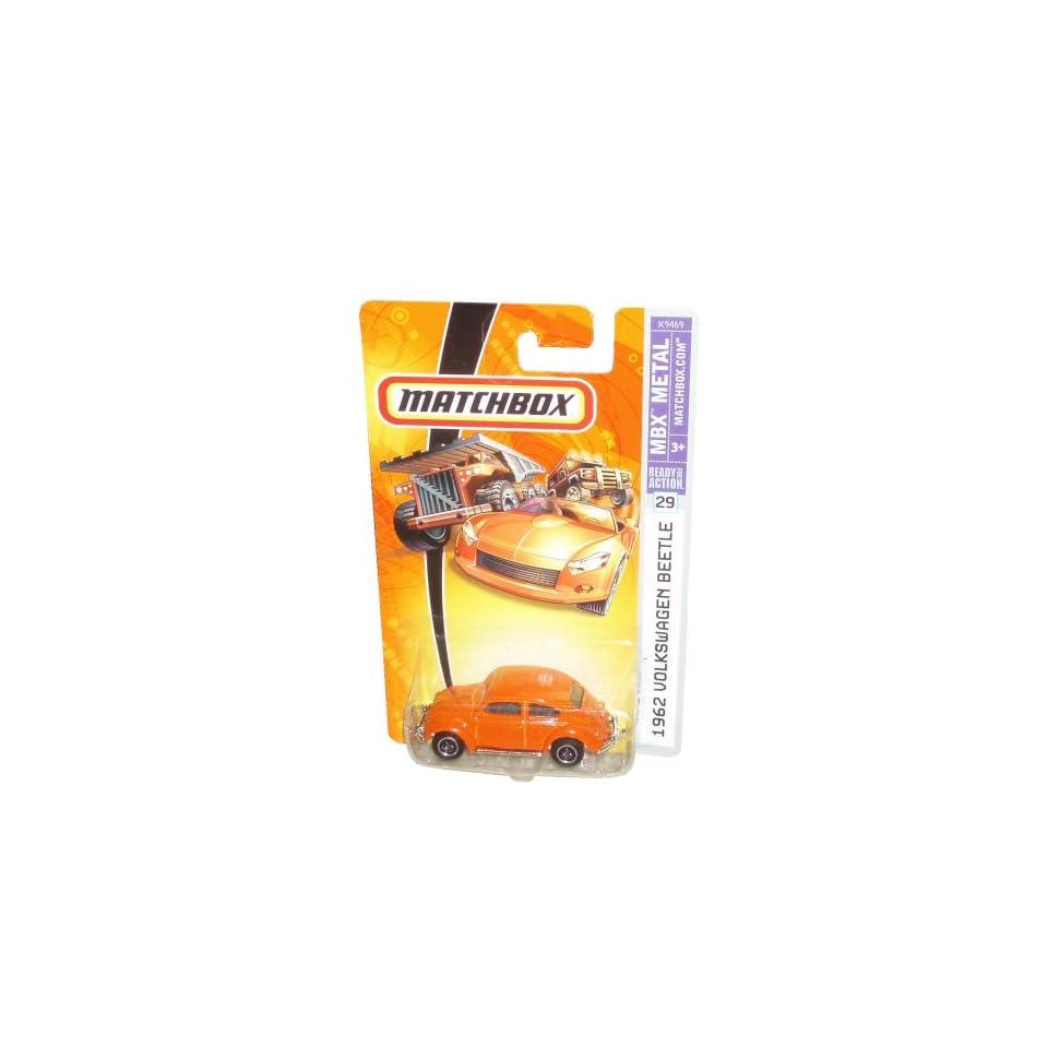 # 29   Orange Color 1962 Economy Car Volkswagen Beetle Toys & Games
