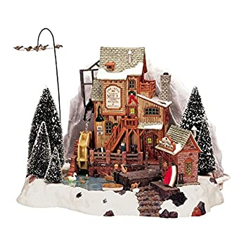 Lemax Christmas - Oak Creek Grist Mill with 4.5v Adaptor (36321)