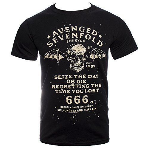 T Shirt Avenged Sevenfold Seize The Day (Nero) - Small