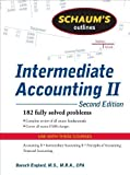 img - for Schaum's Outline of Intermediate Accounting II, 2ed (Schaum's Outline Series) 2nd (second) Edition by Englard, Baruch published by McGraw-Hill (2009) book / textbook / text book