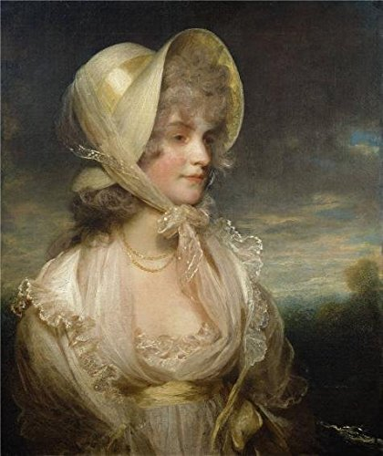 The High Quality Polyster Canvas Of Oil Painting 'John Hoppner - The Hon. Lucy Byng, Late 18th Century' ,size: 8x10 Inch / 20x24 Cm ,this Beautiful Art Decorative Prints On Canvas Is Fit For Kitchen Decoration And Home Artwork And Gifts (Shutter Media Console compare prices)