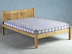 Seconique Maya Double Pine Bed Frame