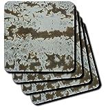 cst_18632_1 Florene Designer Textures - Concrete Evidence - Coasters - set of 4 Coasters - Soft