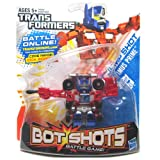 Optimus Prime Transformers Bot Shots Stunts N Speed Series 2 Battle Game Vehicle